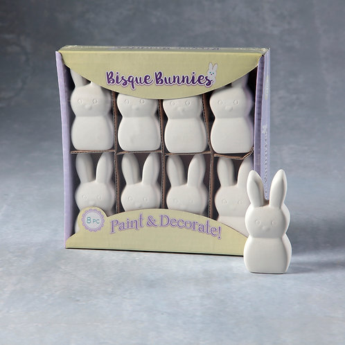 Bisque Bunny 8-Pack  Case of 10