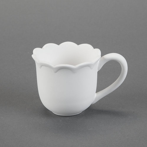 Scalloped Mug  Case of 12