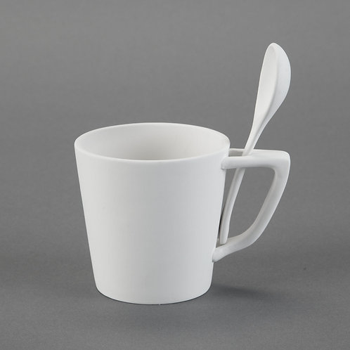 Snack Mug with Spoon  Case of 6