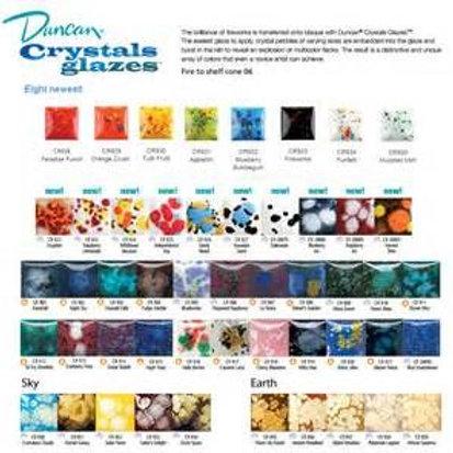 Crystal Glazes Color Chart