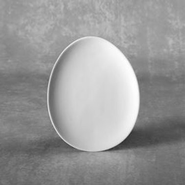 Small Egg Plate  Case of 6