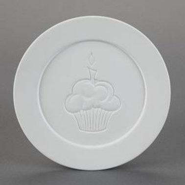 Cupcake Dinner Plate  Case of 6
