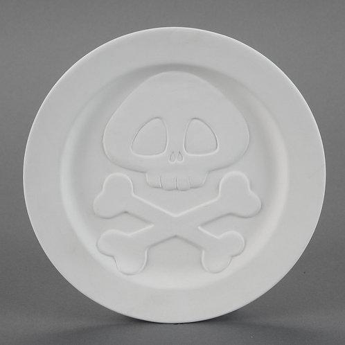 Skater Skull Plate  Case of 6