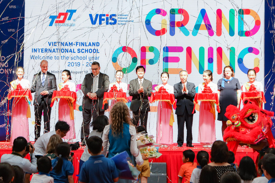 Vietnam-Finland International School's Grand Opening Ceremony