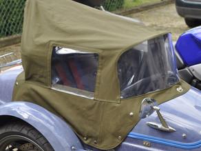 Osłona dla pasażera na wózek boczny motocykla