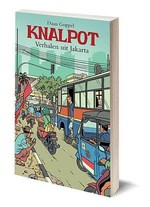 Boek Knalpot - Vehalen uit Jakarta - Daan Goppel