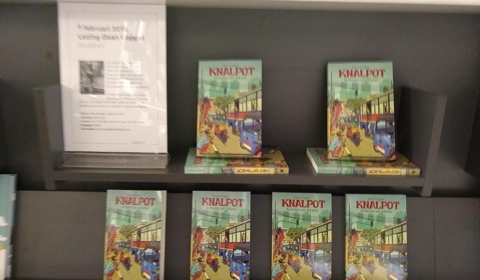 Knalpot lezing boekhandel De Vries Van Stockum