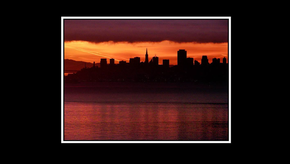 Winter Sunrise, San Francisco
