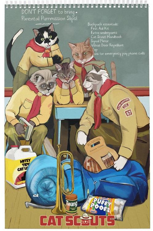Cat Scouts Calendar (choose your own start date)