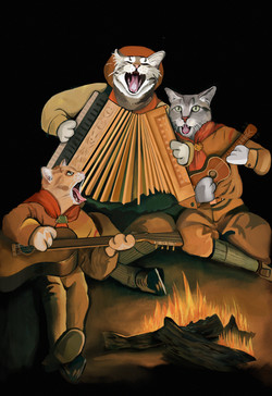 The Cat Scouts Squeezebox Trio