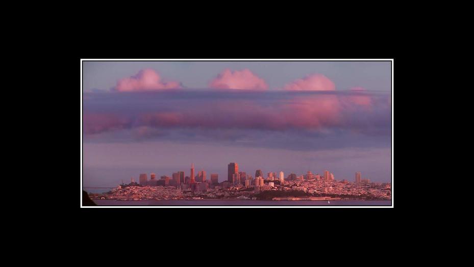 Three Pink Clouds