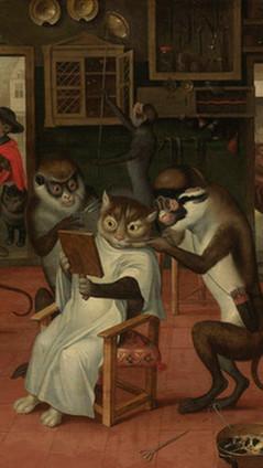 Cats With Monkey Servants???