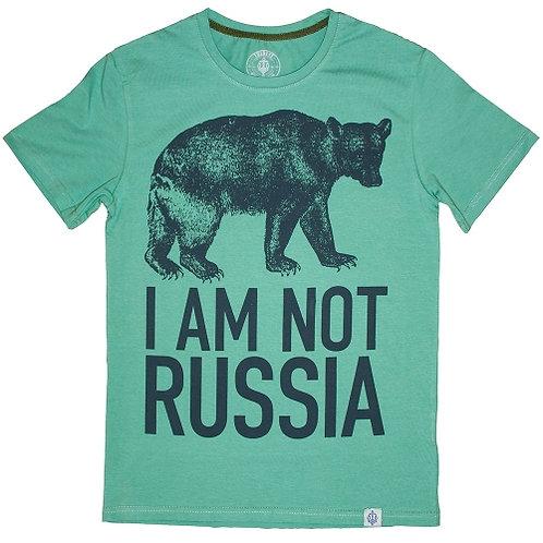 Футболка I AM NOT RUSSIA
