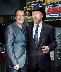 Антін Мухарський з Квентіном Тарантіно на кінофестивалі у США