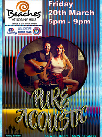 BEACHES_POSTER_PURE ACOUSTIC_20th MARCH_