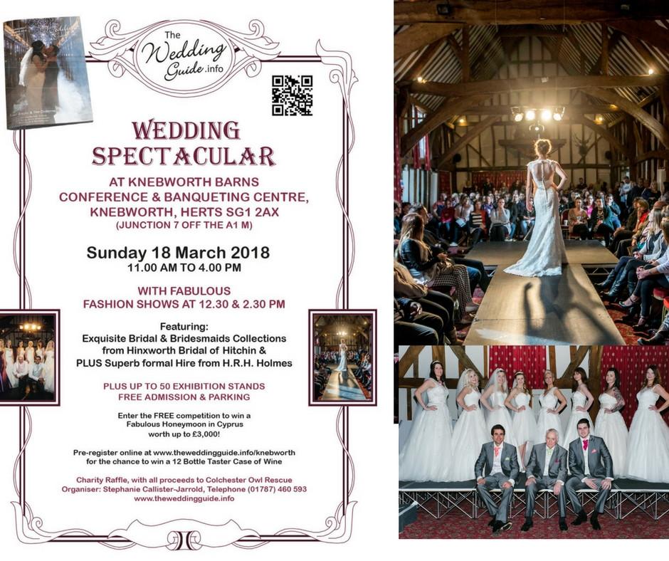 Hertfordshire Wedding Show   Knebworth Barns