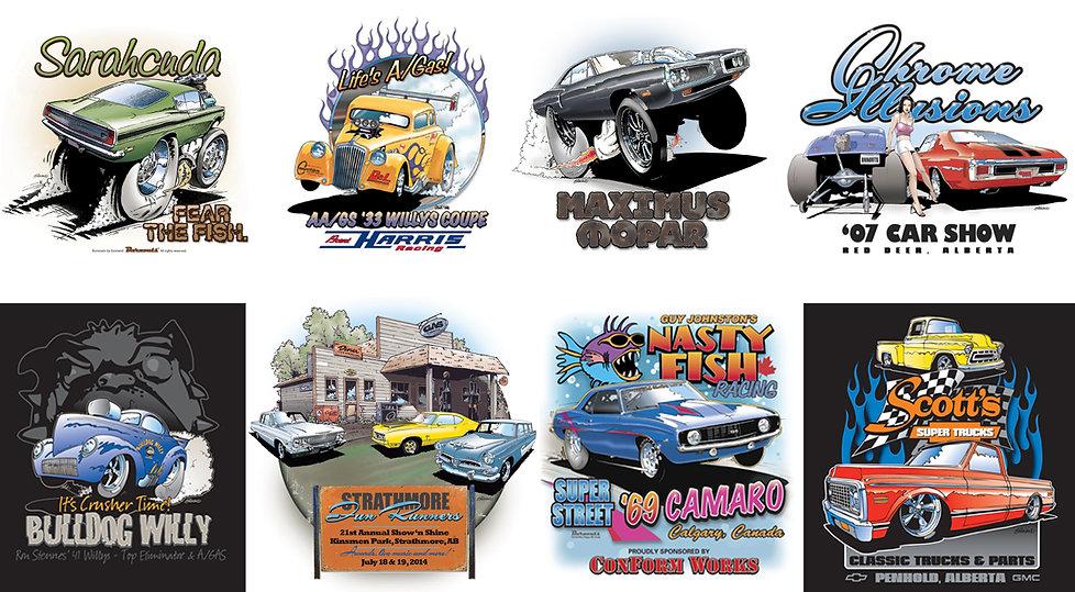 Brent Harris '33, Bulldog Willy, Strathmore FunRunners, Quicktimes, Scott's Super Trucks, James McFarlaine