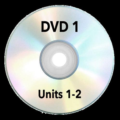 DVD - Unit 1-2