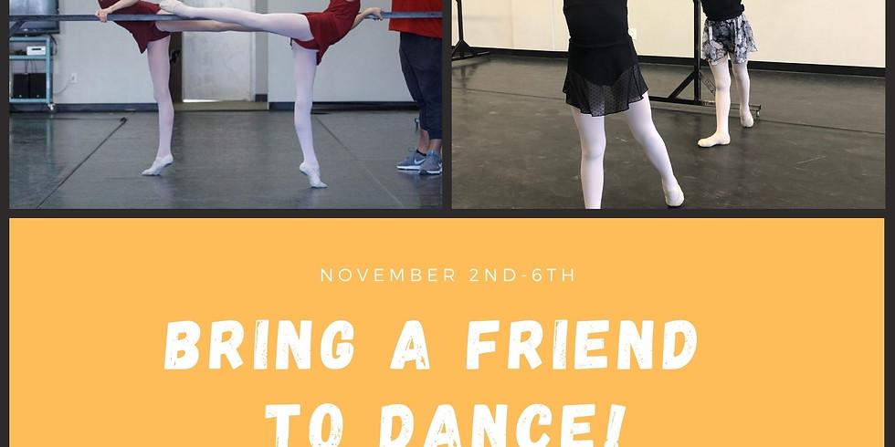 Bring a friend to dance!