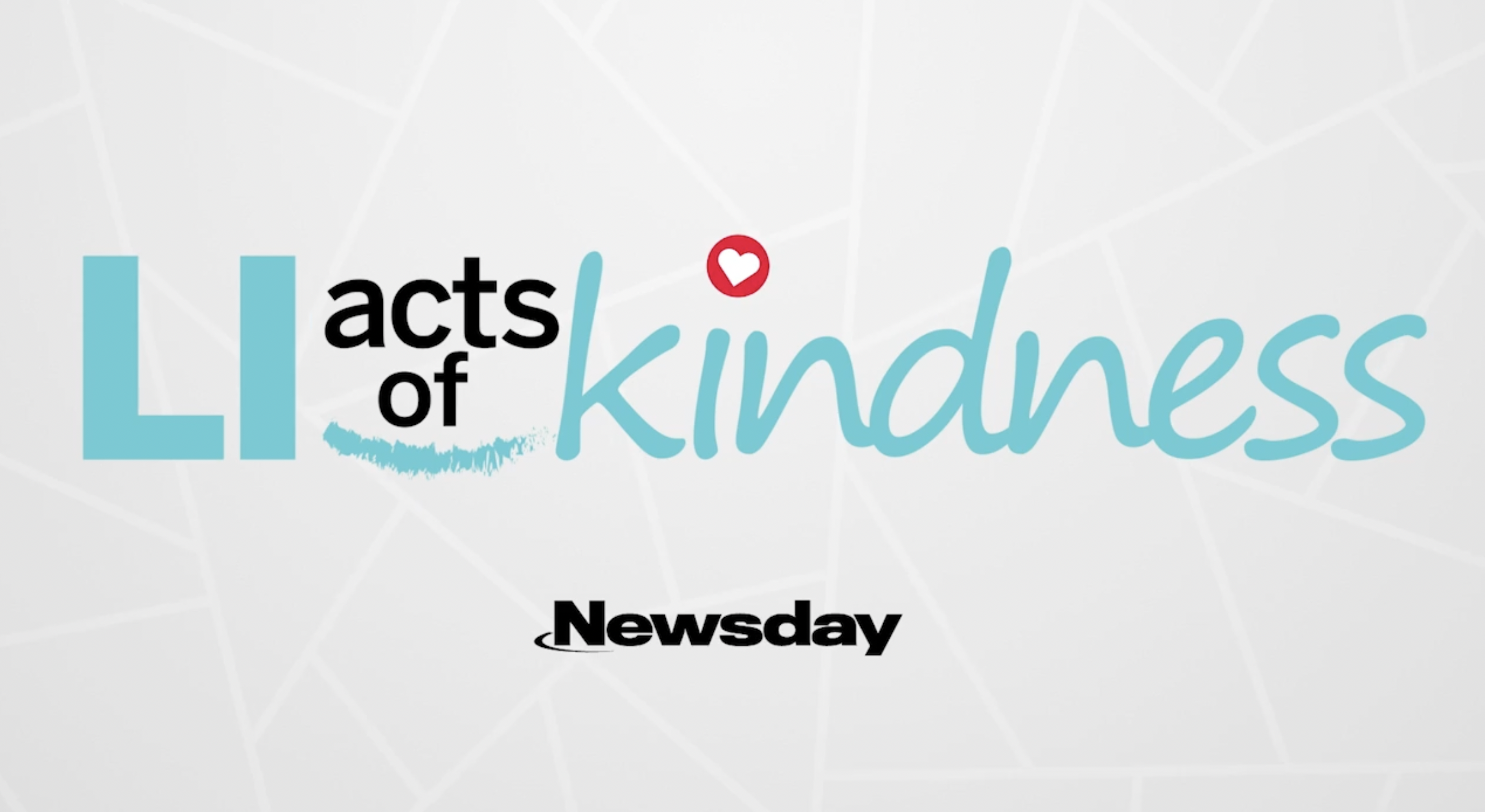 LI Acts of Kindness video series launched in 2020