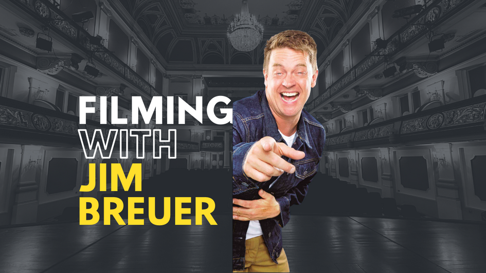 Filming with Jim Breuer