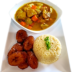 Curry Chicken Plate