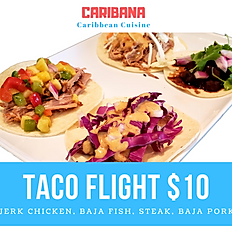 Taco Flight (4 tacos)