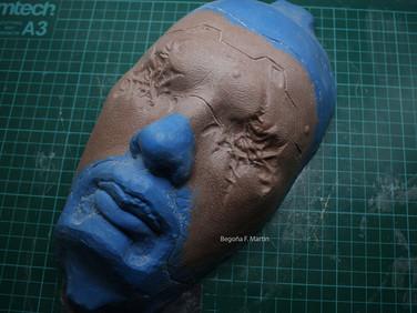 Cyberpunk sculpt 2020