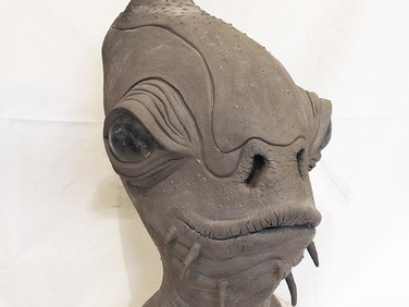 Female Mon Calamari sculpt