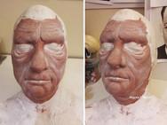 Lon Chaney prosthetics sculpt