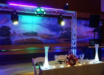 sweet heart table backdrop