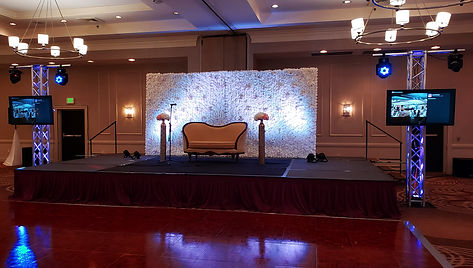 High end wedding DJ sound and lighting