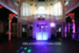 Wedding DJ service at the crystal ballroom downtown Orlando