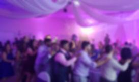 Wedding DJ got them in a conga line