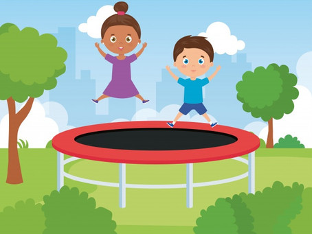 Outdoor trampoline benefits