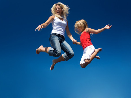 Decrease Stress with Trampoline Parks!