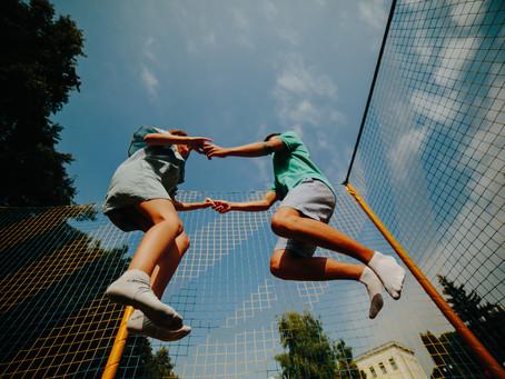 8 benefits of trampoline for  children