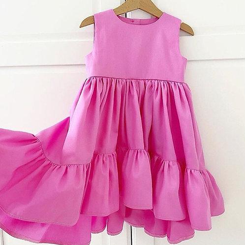 Vestido Janaína pink