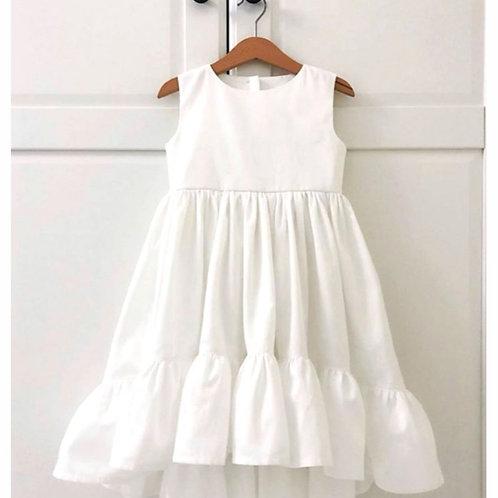 Vestido Janaína branco