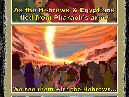 """Was there a """"Mixed Multitude"""" that came out of Egypt?"""