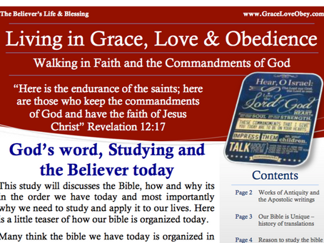 Free newsletter - God's word - the Bible