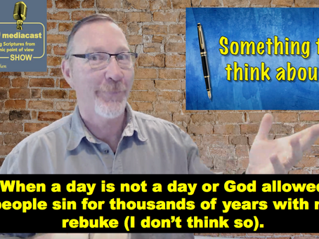 When a day is not a day - false teaching