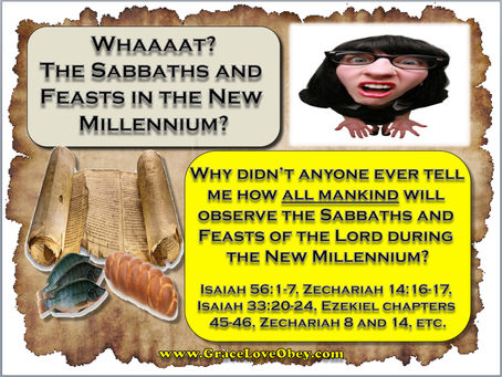 Whaaat? Sabbath & Feasts in the New Millennium?