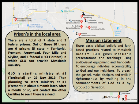 Messianic Prison Ministry - the Mission
