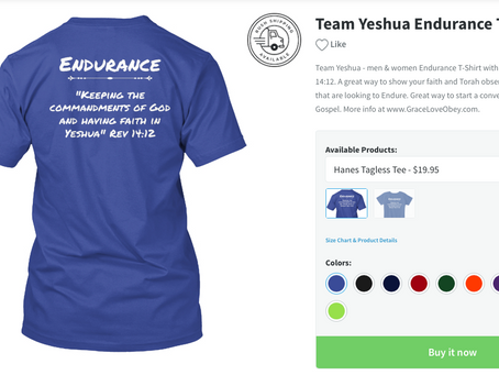 Team Yeshua Motivational T-Shirts