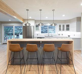 Shore Pine Modern Kitchen