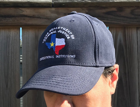 TDCJ Cotton Adjustable Hat