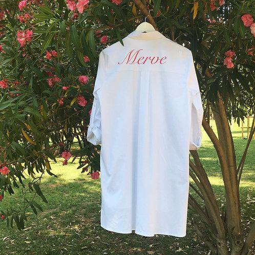 Kişiye Özel Gömlek Elbise