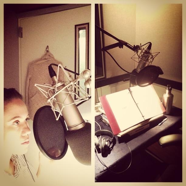 Recording at Audible