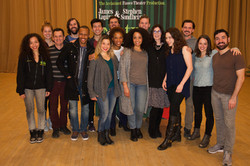 Cast with Joanna Gleason